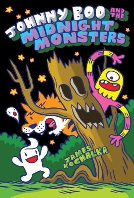 Johnny Boo and the Midnight Monsters (Johnny Boo Book 10) Cover Image