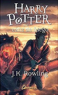 Harry Potter Y El Caliz del Fuego (Harry Potter and the Goblet of Fire) Cover Image