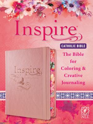 Inspire Catholic Bible NLT The For Coloring Creative Journaling Cover Image
