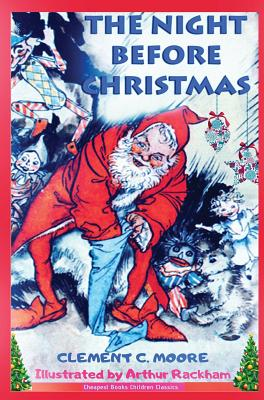 The Night Before Christmas: [Illustrated] Cover Image