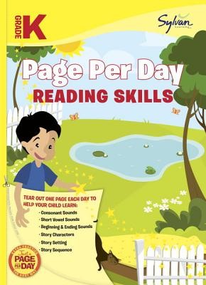 Kindergarten Page Per Day: Reading Skills Cover Image