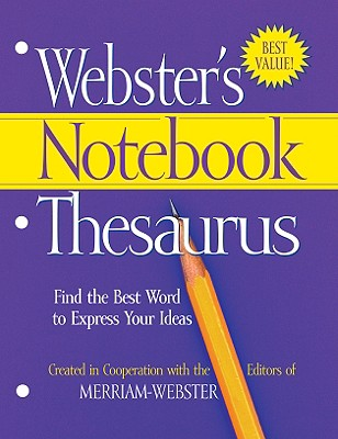 Webster's Notebook Thesaurus Cover Image
