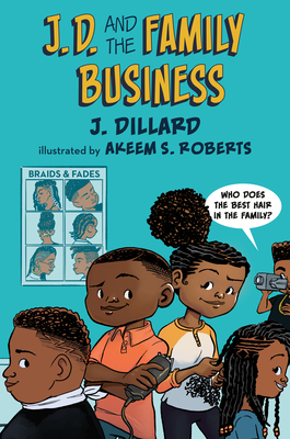 J.D. and the Family Business (J.D. the Kid Barber #2) Cover Image