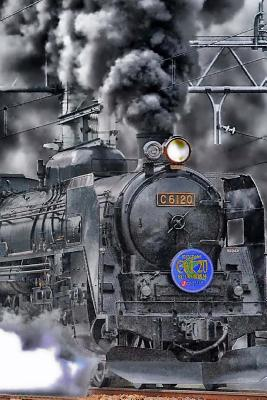 Trains Notebook Cover Image
