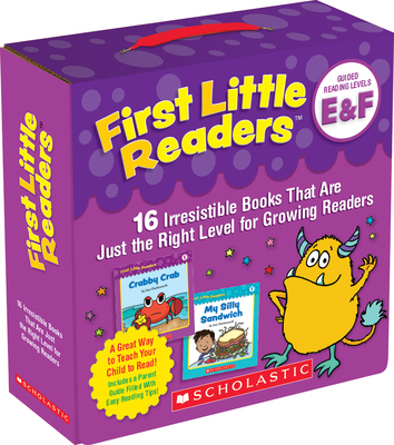 First Little Readers: Guided Reading Levels E & F (Parent Pack): 16 Irresistible Books That Are Just the Right Level for Growing Readers Cover Image