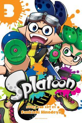 Splatoon, Vol. 3 Cover Image