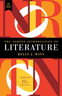 The Norton Introduction to Literature with 2016 MLA Update Cover Image