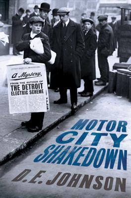 Cover for Motor City Shakedown (Detroit Mysteries #2)