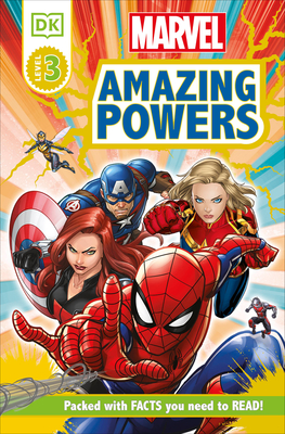 Marvel Amazing Powers [RD3] (DK Readers Level 3) Cover Image