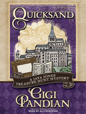 Quicksand (Jaya Jones Treasure Hunt Mystery #3) Cover Image