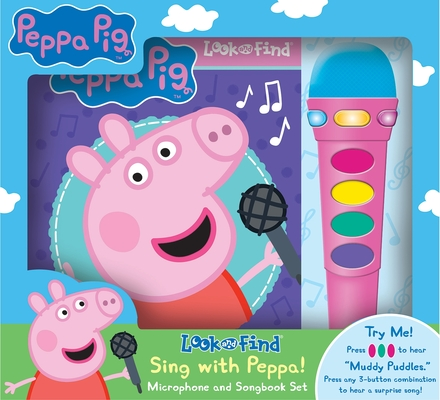 Peppa Pig: Sing with Peppa! [With Microphone] (Play-A-Song) Cover Image
