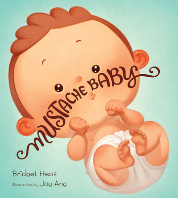 Mustache Baby Cover