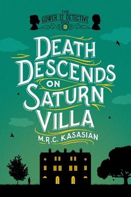 Death Descends on Saturn Villa Cover Image