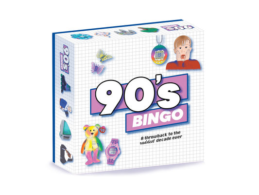 90's Bingo: A Throwback to the Raddest Decade Ever Cover Image