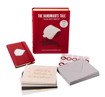 The Handmaid's Tale Deluxe Note Card Set (With Keepsake Book Box) Cover Image