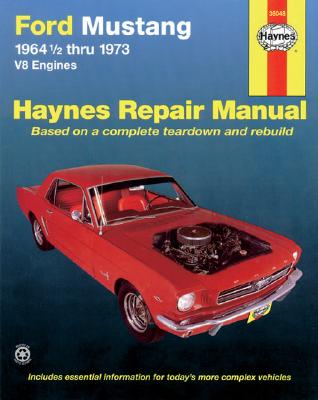 Ford Mustang I, 1964 1/2-1973: V8 Engines (Haynes Repair Manual) Cover Image