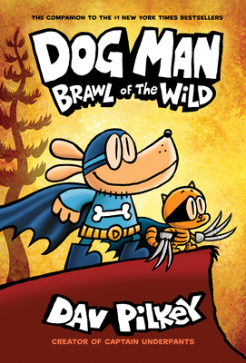 Dog Man Brawl of the Wild book cover