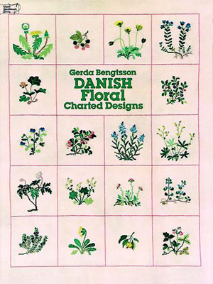 Danish Floral Charted Designs (Dover Embroidery) Cover Image