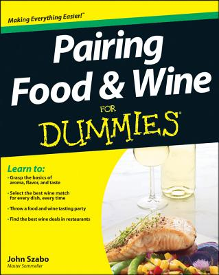 Pairing Food & Wine For Dummie (For Dummies) Cover Image