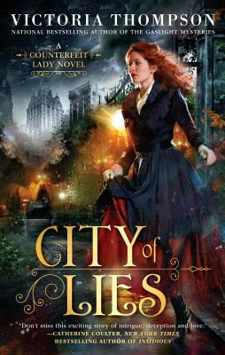 City of Lies (A Counterfeit Lady Novel #1) Cover Image
