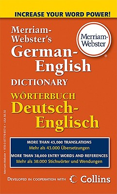 Merriam-Webster's German-English Dictionary Cover Image