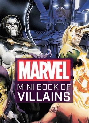 Marvel Comics: Mini Book of Villains Cover Image