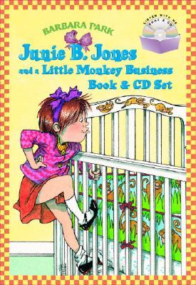 Junie B. Jones and a Little Monkey Business Book & CD Set Cover