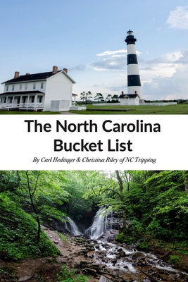The North Carolina Bucket List Book Cover Image