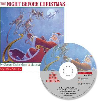 The Night Before Christmas [With CD] Cover Image