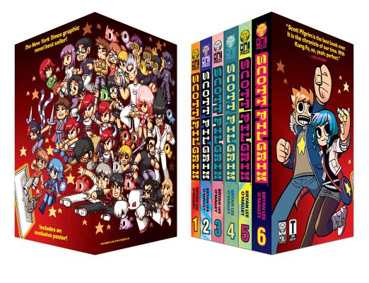 Scott Pilgrim 6 Volume Boxed Set [With Poster] Cover Image
