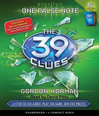 One False Note (The 39 Clues, Book 2) Cover Image