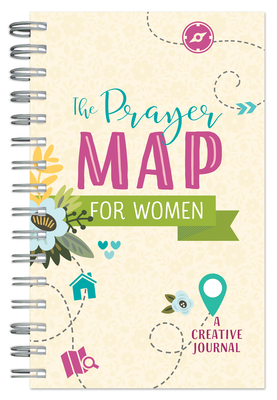 The Prayer Map®  for Women: A Creative Journal (Faith Maps) Cover Image