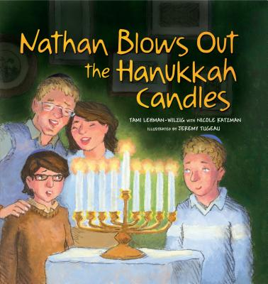 Nathan Blows Out the Hanukkah Candles Cover