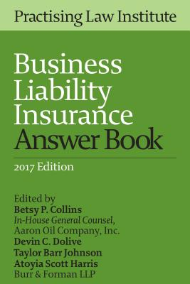 Business Liability Insurance Answer Book 2015 Cover Image