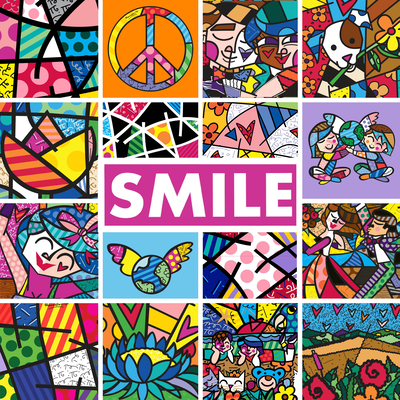 Smile: Sharing Happiness With Notes of Love, Peace, & Friendship Cover Image