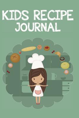 Kid's Recipe Journal Cover Image