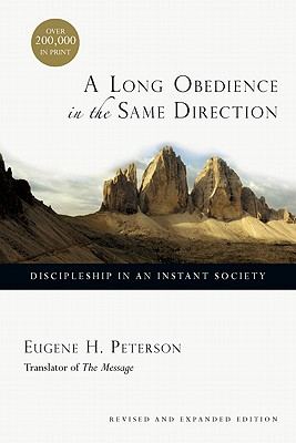Cover for A Long Obedience in the Same Direction