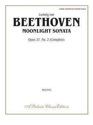 Moonlight Sonata, Op. 27, No. 2 (Complete) Cover Image