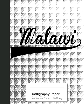 Calligraphy Paper: MALAWI Notebook Cover Image
