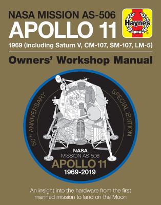 Cover for NASA Mission AS-506 Apollo 11 1969 (including Saturn V, CM-107, SM-107, LM-5)