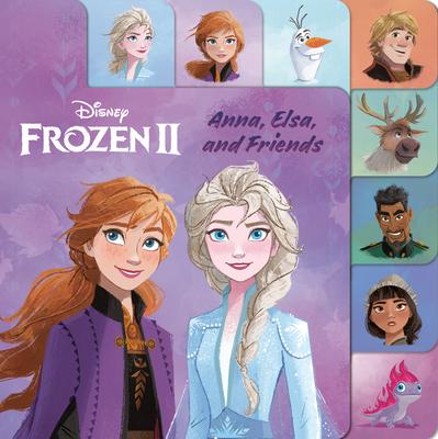 Anna, Elsa, and Friends (Disney Frozen 2) Cover Image