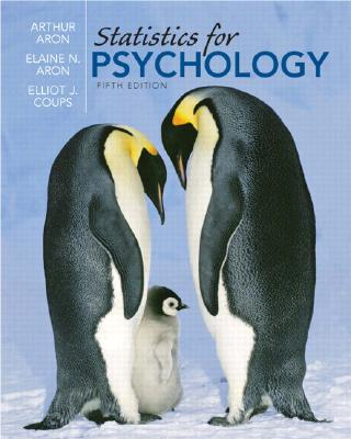 Statistics for Psychology Cover Image