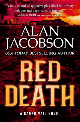 Cover for Red Death (Karen Vail Novels #8)
