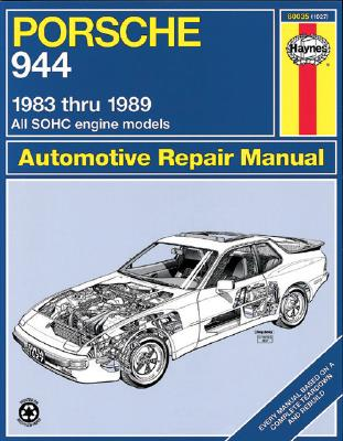 Porsche 944, 1983-1989 (Haynes Manuals) Cover Image