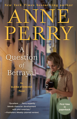 A Question of Betrayal: An Elena Standish Novel Cover Image