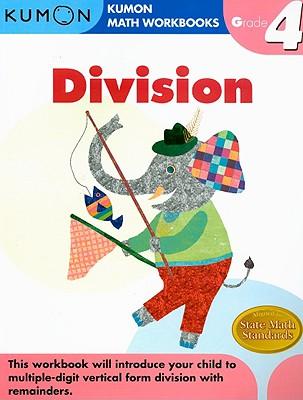 Division Grade 4 (Kumon Math Workbooks) Cover Image