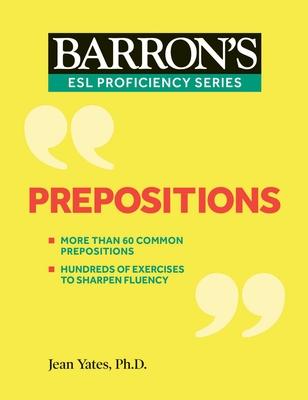 Prepositions (Barron's ESL Proficiency) Cover Image