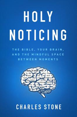 Cover for Holy Noticing