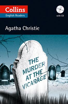 The Murder at the Vicarage (Collins English Readers) Cover Image