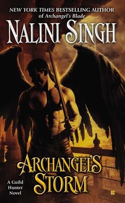 Archangel's Storm (A Guild Hunter Novel #5) Cover Image